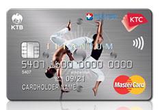 บัตรเครดิต KTC Bangkok Hospital Group Titanium Mastercard