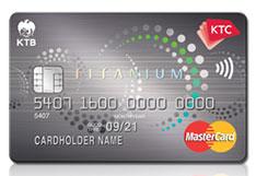 บัตรเครดิต KTC Senior Titanium Mastercard