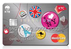บัตรเครดิต KTC Travel Titanium Mastercard